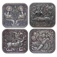 ХУДОЖЕСТВЕННАЯ ЧЕКАНКА - серия работ «Русские древности»