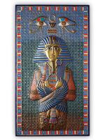 ХУДОЖЕСТВЕННАЯ ЧЕКАНКА - панно «Фараон Тутанхамон»